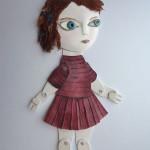 Girl test puppet